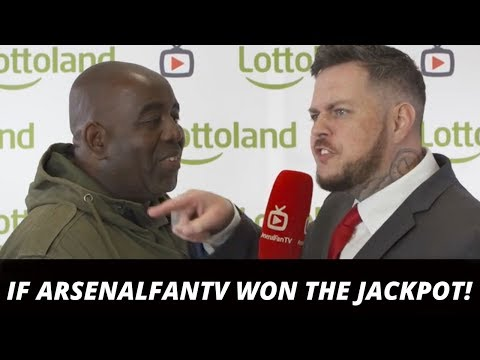 If Arsenalfantv Won The Jackpot! Robbie's Dream… (ft Dt, Troopz, Claude, Ty & Moh)