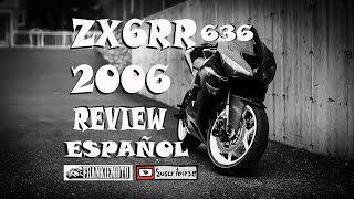 4. Kawasaki ZX6RR 636cc del 2006 Review en Español
