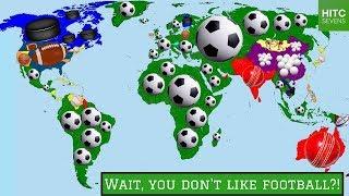 Video 7 Countries Where Football Isn't the Most Popular Sport MP3, 3GP, MP4, WEBM, AVI, FLV Juli 2018