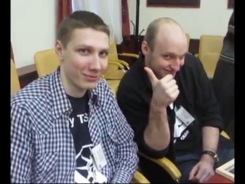 II конкурс, мастер-классы со специалистами организаций-партнеров Видео Эдуарда Навогонского