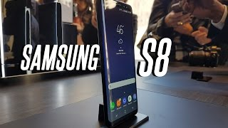 """Dubai's Tech Reviewer Reacts To Samsung's Latest Flagship Smartphone: The Samsung Galaxy S8 and S8 Plus. For vlogs subscribe to: http://emkwan.com/vlogs✩ Twitter - http://www.twitter.com/emkwan✩ Instagram - http://www.instagram.com/emkwan✩ Snapchat - @EMKWAN✩ Blog/Website - http://emkwan.com✩ FaceBook - http://www.facebook.com/emkwan.page__Shot on a Canon G7X, Sometimes a Canon Legria Mini X or Go Pro Hero 4 Session__FAQs:- How old are you? - 32 (See My Birthday Vlog Here: https://www.youtube.com/watch?v=mHmuo...)- Where do you live? - Abu Dhabi, UAE- What Phone(s) do you use? - iPhone 7 Plus- What is your job? - Lecturer and Working with brands on social media- What editing program do you use? - iMovie, FCPX and Motion- How long do your vlogs take to edit? - They vary from 15mins - 3 hours +- Where are you originally from? - Born and raised in the UK, Leicester- Are you guys Emirati? - Nope. We are expats from the UK- Are you guys married? How long have you been married? - Yes. Just past the 5 year mark- How do you wear your head gear? - I made a tutorial here http://youtu.be/x6_hA3zM6MA- What sun glasses do you wear? - Rayban Aviators and Justins- Can you get me a job in Dubai? - no sorry, I'm not in recruitmentStill got questions? Submit your questions here #AskEMKWANhttp://emkwan.com/ask__Peace and BlessingsEMKWAN REVIEWS is a weekly channel set up by EMKWAN for unboxing, reviews on technology, cars, watches and lifestyle.EMKWAN is an award winning YouTuber, Digital and Social Media Influencer who is regarded as """"One of the UAE's leading video bloggers."""" (Esquire Magazine). Originally from the UK now based in Abu Dhabi. In 2015, EMKWAN was handed the Esquire Magazine's Digital Influencer award and selected as one of AHLAN!'s Hot 100 Influencers of the Middle East."""
