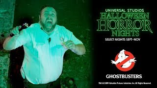 Ghostbusters House Reveal | Universal Studios Halloween Horror Nights 2019