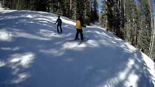 Los Alamos (NM) United States  City pictures : Skiing Nuther Mother at Pajarito Ski area near Los Alamos, New Mexico, USA