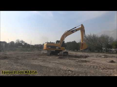 CATERPILLAR トラック油圧ショベル 320D equipment video aouEJdny2q4
