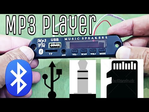 Bluetooth mp3 player unboxing & review, USB, AUX, Memory card (low price)- gearbest.com