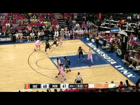 Maya Moore's career high 35 points vs. Fever- August 2013