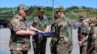 East Ellijay (GA) United States  city photo : American Flag Retirement at Ronnie Thompson Ford