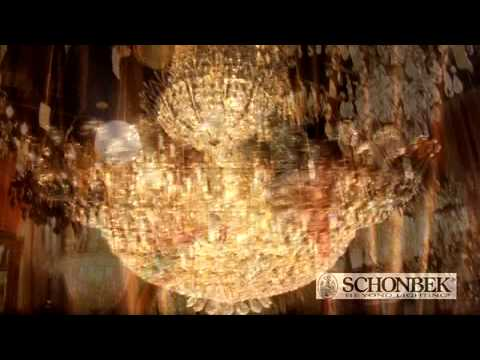 Schonbek 1424 The Rose 4 Light Mini Pendant | Lighting by Lux