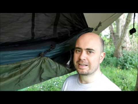 Uporaba kot viseče ležišče + DD Tarp XL: www.youtube.com/watch?v=aoyJCGUPzeQ
