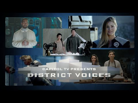 The Hunger Games: Mockingjay, Part 1 (Viral Video 'District Voices' Trailer)