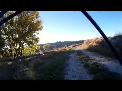 MTB Valladolid. Llegada y subida a Montemayor de Pililla