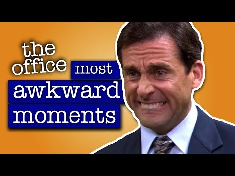 Most Awkward Moments - The Office US (видео)