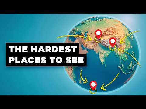 What's The Most Difficult Place To Get To In the World? (видео)