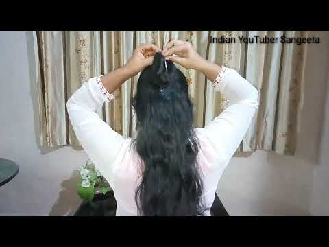 Short haircuts - Very Easy, Simple & Quick Juda Hairstyle Using Banana Clip  Hair Style Girl Hairstyles For Girls