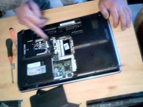 comment demonter un pc portable hp dv6