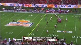 Xavier Rhodes vs Northern Illinois (2012 Bowl)
