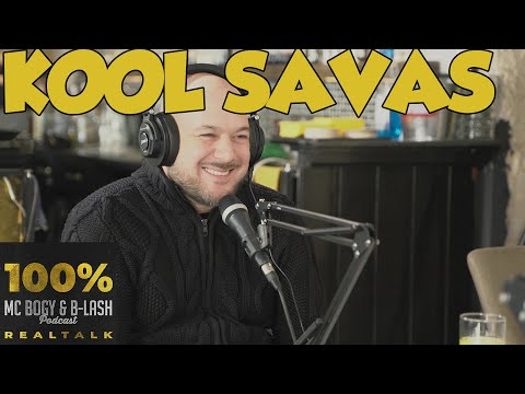 100% REALTALK Podcast #1 | Kool Savas | MC Bogy & B-LASH