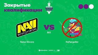Natus Vincere vs NoPangolier, MegaFon Winter Clash, bo3, game 3 [Jam & Inmate]