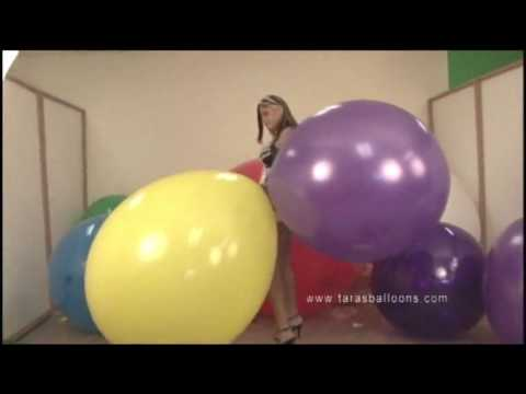 cattex 44 inch tara pop balloon looner (видео)