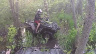 9. 2 Yamaha Grizzly 600's