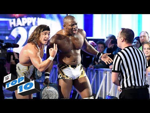 Top 10 SmackDown LIVE moments: WWE Top 10, January 2, 2018