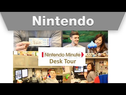 nintendo - Hi, hope you are all having a great day. Today we wanted to share with you what's on our desk at work. Throughout the years of working at Nintendo, we definitely collected a lot of cool items...