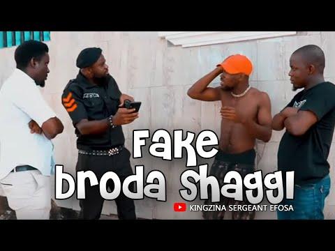 Police tames fake Broda Shaggi (Wahala Jam Trouble) -  (KingZina comedy) (Episode127)