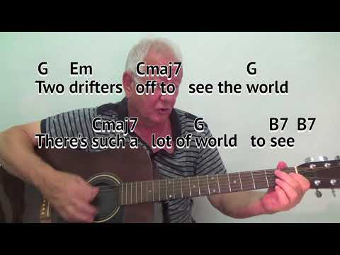 Moon River Easy Guitar Lesson Tab Chords By Guitarnick