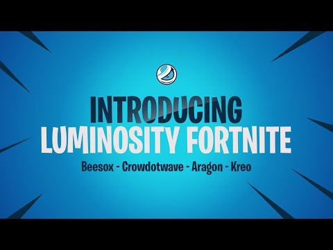 Luminosity sign a Fortnite team