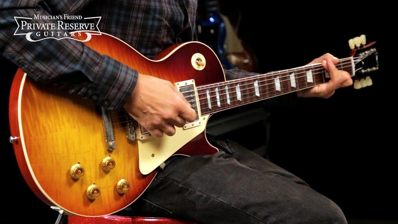 Gibson Custom 2018 Dark Bourbon '59 Les Paul Standard Electric Guitar