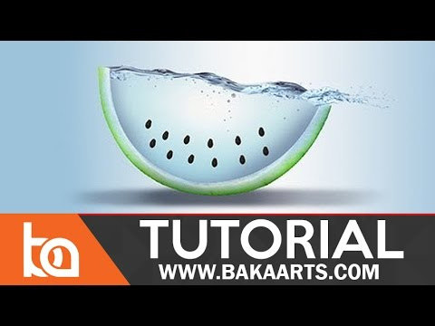Water Fruit Photo Manipulation in Photoshop
