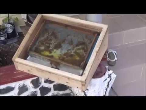 Воскотопка солнечная  с стеклопакетом своими руками за пару часов - DomaVideo.Ru