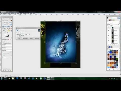 GIMP Tutorial: Channel Design / Kanal Hintergrund erstellen