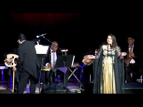 Ghaneelee Shway Shway - Ghada Derbas And National Arab Orchestra - غنيلي شوية شوية - غادة درباس