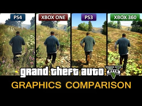 GTA 5 Graphics Comparison – PS4 / Xbox One / PS3 / Xbox 360