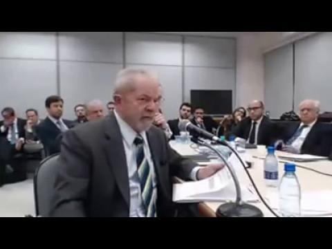 Veja o que disse Lula nas considerações finais ao juiz Mouro (видео)
