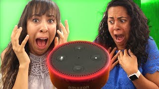 Video NEVER ask Alexa these questions! (Mystery Gaming) MP3, 3GP, MP4, WEBM, AVI, FLV Maret 2019