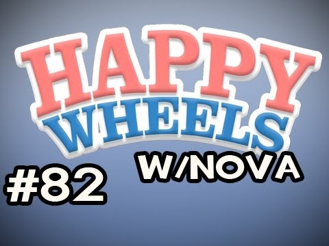 Happy Wheels w/Nova Ep.82 - Luclin's Zombiefort Video