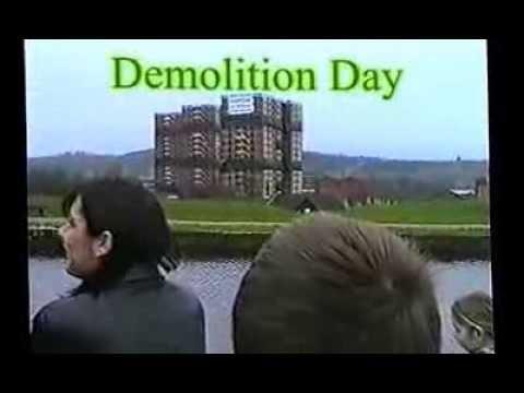 Mill Hill Flats-Demolition-2001