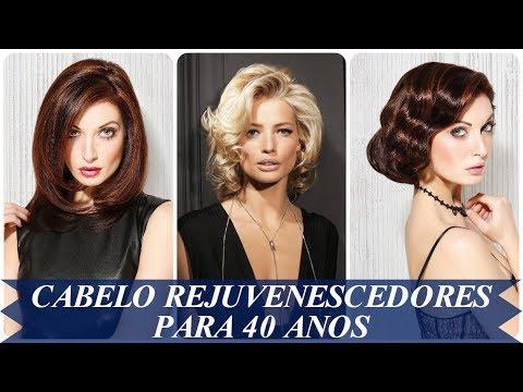 Modelo de corte de cabelo rejuvenescedores para 40 anos