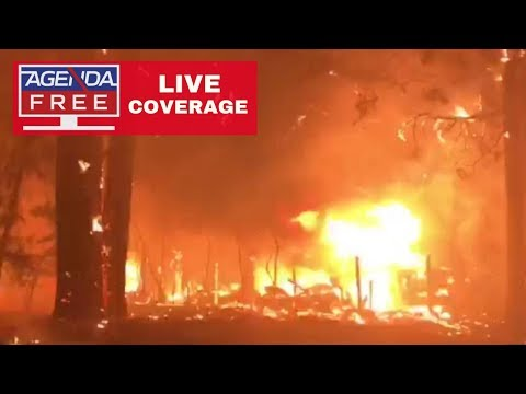 Camp Fire & Hill Fire in California- LIVE COVERAGE