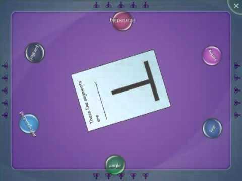 SMART Table Activity - Geometry Vocabulary