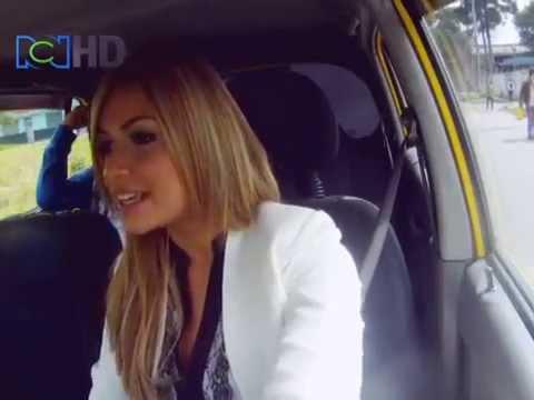 sara uribe - En nuestra sección El Taxista de El Lavadero estuvo con nosotros la hermosísima Sara Uribe, ganadora de Protagonistas de Nuestra Tele. Ella como la taxista t...