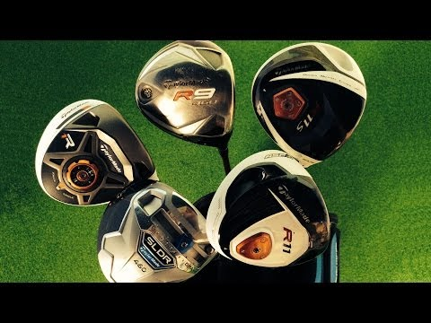 TaylorMade SLDR Driver Vs Four Previous TaylorMade Drivers