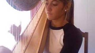 """""""Stairway To Heaven"""" On Harp - What An Amazing Instrument!"""