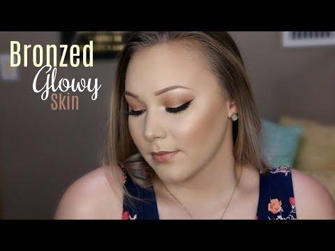 Bronzed Glowy Skin | talk-thru tutorial