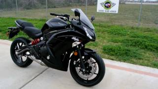 4. Overview and Review of the 2012 Kawasaki Ninja 650R in Metallic Spark Black