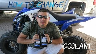 8. How To Change: Coolant on 2016 Yamaha Raptor 700R