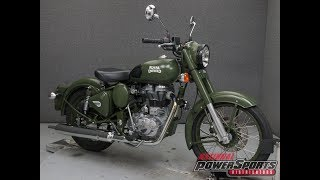 10. 2016  ROYAL ENFIELD  BULLET C5 MILITARY - National Powersports Distributors