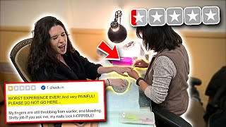 Video Taking my Ex Girlfriend to the WORST REVIEWED NAIL SALON in my City! (SHE WAS MAD) MP3, 3GP, MP4, WEBM, AVI, FLV Maret 2019